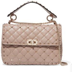 Valentino Rockstud Spike medium bag & coin purse